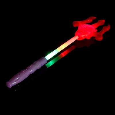 Палочка световая «Трезубец», цвета МИКС