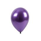 """Шар латексный 11"""" «Хром», набор 100 шт., цвет фиолетовый - фото 268974351"""