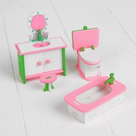 "Furniture for dolls ""Bathroom mirror"""