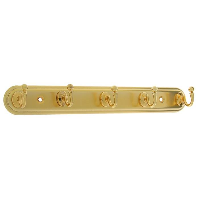 Вешалка 5-ти местная KV105GP, цвет золото