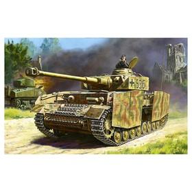 Сборная модель «Немецкий средний танк Т-IV H»