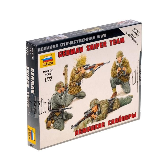 """Сборная модель """"Немецкие снайперы"""" 6217"""