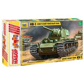 Сборная модель «Советский танк КВ-1»
