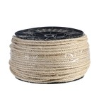 Верёвка сизалевая кручёная  5 мм, катушка (225 м)