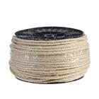 Веревка сизалевая крученая  5,0 мм (225 м), катушка