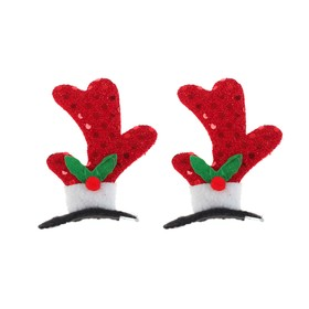 """Carnival clip """"Horns"""" set of 2 pieces"""