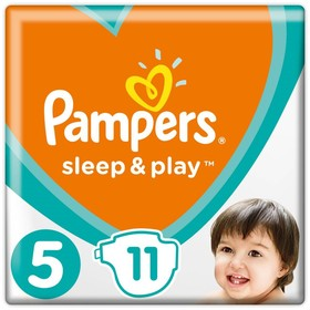 Подгузники Pampers Sleep&Play, 11-16 кг, Junior, 11 шт/уп