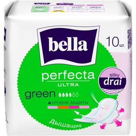 Гигиенические прокладки Bella Perfecta ULTRA Green, 10 шт