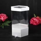Коробка подарочная, белый, 17 х 17 х 32,5 см