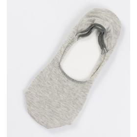 Носки-невидимки мужские 070K-130 (070K) цвет светло-серый меланж, р-р 25 Ош