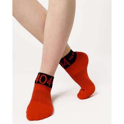 Носки женские, цвет тёмно-красный, размер 23