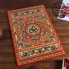Доска разделочная «Прямоугольная», 40×0,8×60 см, красная, ракульская роспись