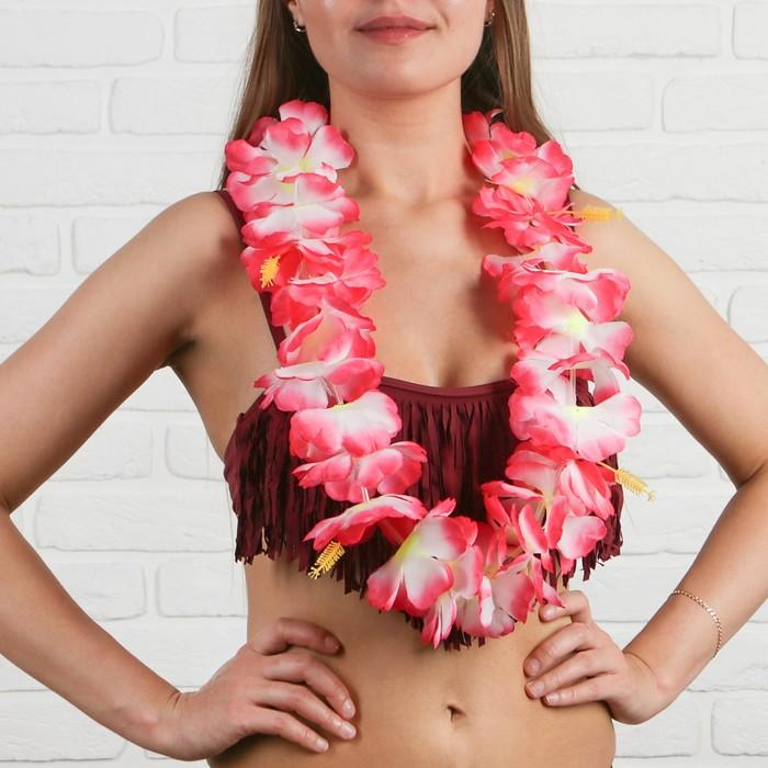"""Гавайское ожерелье """"Первые цветы"""""""