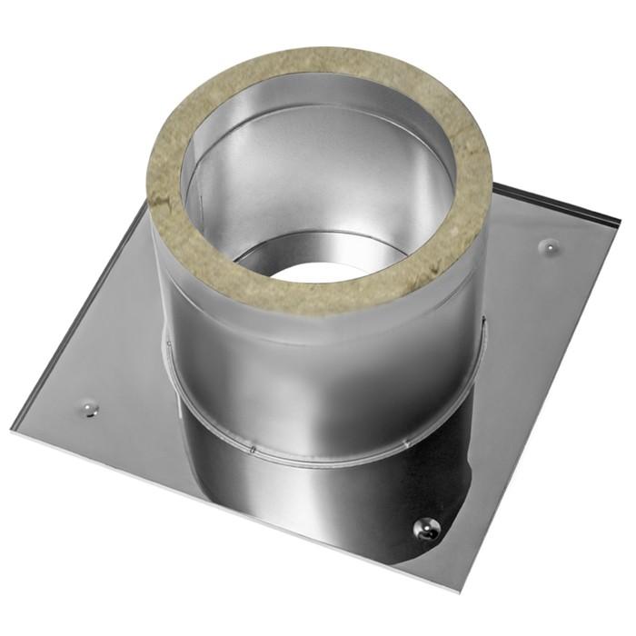 Разделка Феррум потолочная нержавеющая 430/0,5 мм, 600 d 250 мм, с утеплителем
