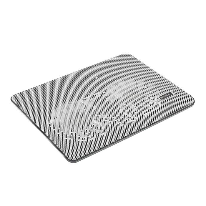 Подставка Luazon для охлаждения ноутбука, белая, провод 40 см, 2 вентилятора
