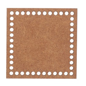 "Blank crochet ""Square"" MDF 10 x 10 cm (DEC-863)"