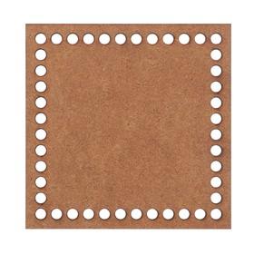 "Blank crochet ""Square"" MDF 15x15 cm (DEC-858)"