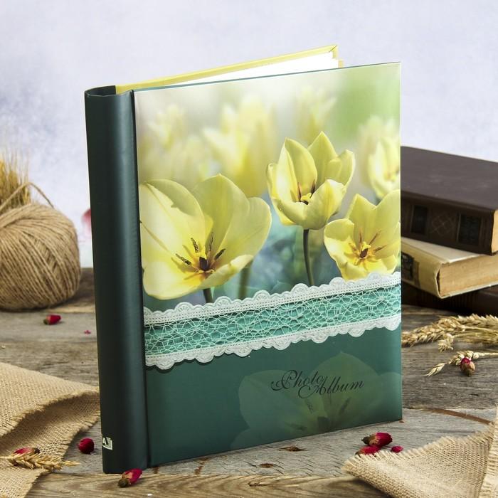 Фотоальбом магнитный 20 листов Image Art  серия 40 цветы 23х28 см
