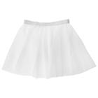 Skirt gymnastic mesh size 24-26 (XXS), color white
