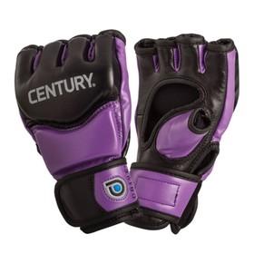 Перчатки тренировочные женские CENTURY (black/purple) L