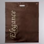 """Пакет """"Леди Элеганс"""", полиэтиленовый с вырубной ручкой, 50 х 60 см, 100 мкм"""