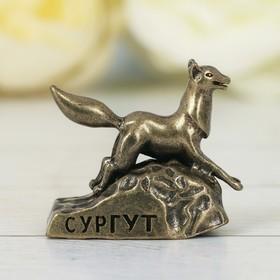 Фигурка «Сургут. Чёрный лис», под латунь в Донецке