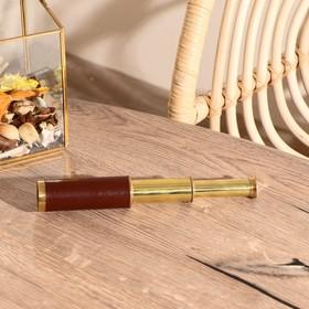 Подзорная труба с 4-х кратным увеличением, в деревянной шкатулке, сувенирная Ош