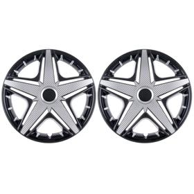 Колпаки колесные R16 NHL Super Black, набор 2 шт. Ош