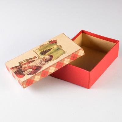 "Набор коробок 3в1 ""Санта Клаус"", 22 х 16 х 8,5 - 18 х 12 х 5,5 см"