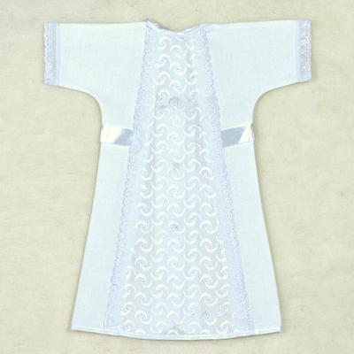 Рубашка для крещения 00314-01, цвет белый, рост 86 см