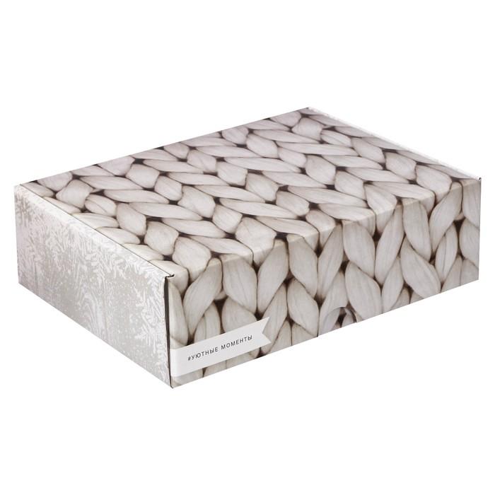 Коробка складная «Уютные моменты», 30,7 х 22 х 9,5 см