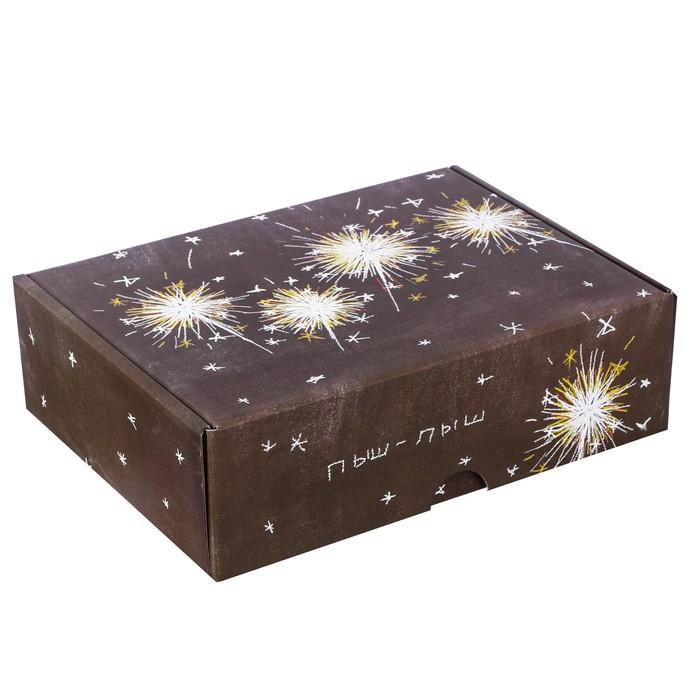Коробка складная «Пыш‒пыш», 30,7 х 22 х 9,5 см