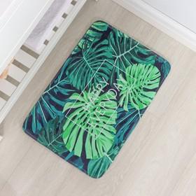 Коврик «Листья монстеры», 40×60 см