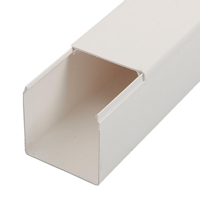 Кабель-канал T-plast, 60x60, 2 м, белый, 50.01.001.0012,