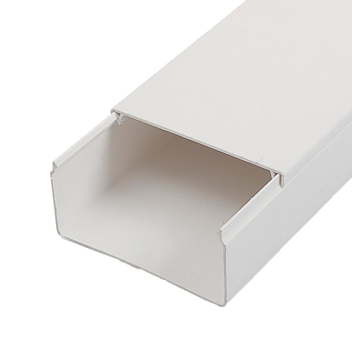Кабель-канал T-plast, 80х40,  2 м, белый, 50.01.001.0013,