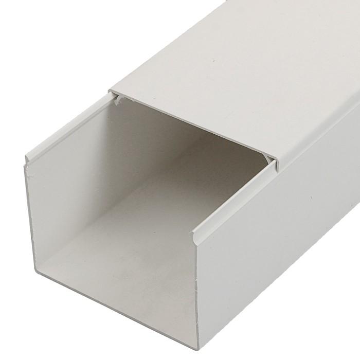 Кабель-канал T-plast, 80х60, 2 м, белый, 50.01.001.0014,