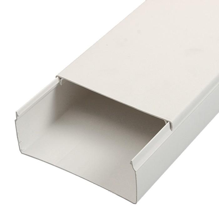 Кабель-канал T-plast, 100х40, 2 м, белый, 50.01.001.0015,