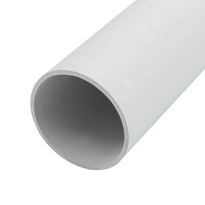 Труба жесткая T-plast, 63 мм, 2 м, серая, 55.02.006.0007,