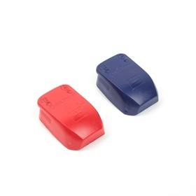 Клемма быстросъемная, набор 2 шт., красный, синий Ош