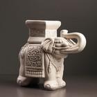 """Фигура - подставка """"Слон малый"""", 12х30х27 см, состаренный"""
