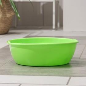 Таз пластмассовый 5 л, цвет МИКС Ош
