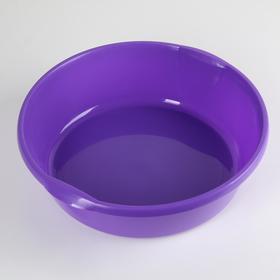 Таз пластмассовый 9 л, цвет МИКС Ош