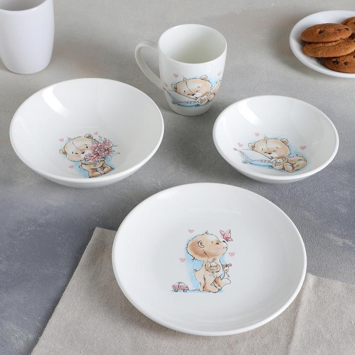 "Набор посуды ""Соната. Кроха"", 4 предмета"