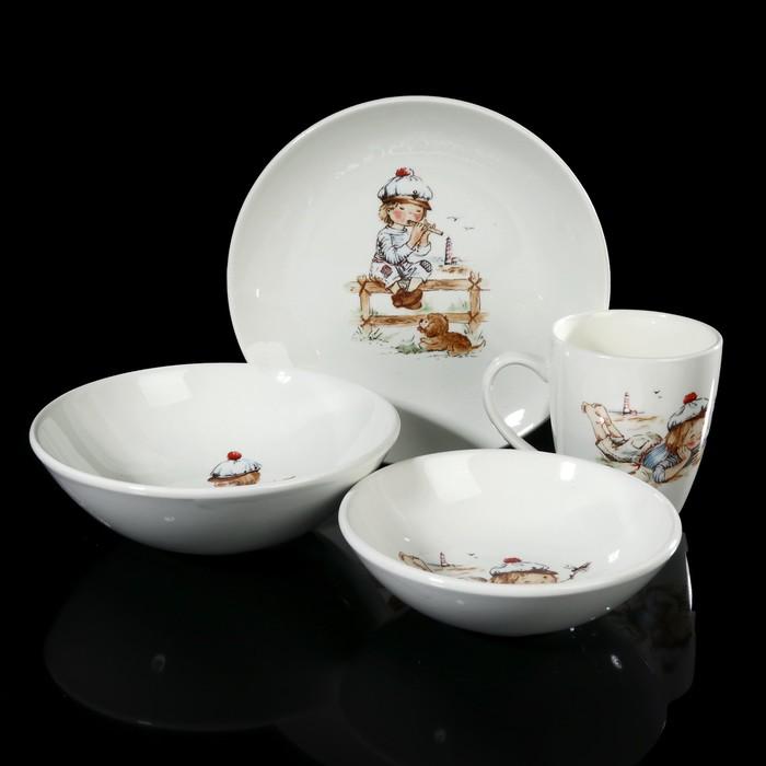 """Набор посуды """"Соната. Юнга"""", 4 предмета"""