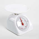 УЦЕНКА Весы кухонные механические ENERGY EN-405МК, до 5 кг, круглые, стеклянные