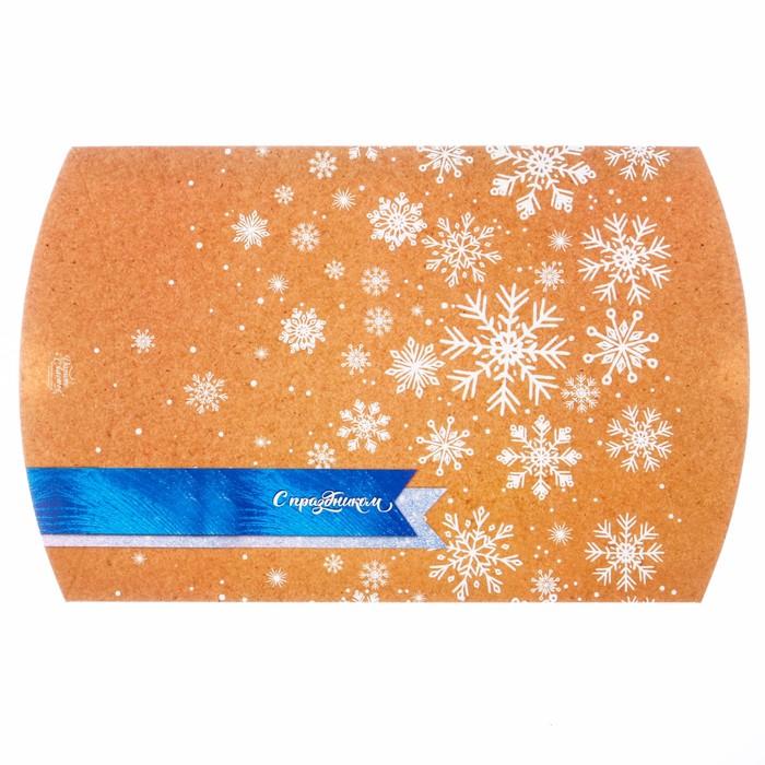 Коробка складная фигурная «С Праздником», 26 х 19 х 4 см