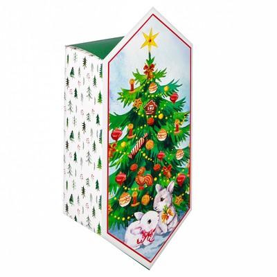 Сборная коробка‒конфета «Накануне Рождества», 14 × 22 × 8 см