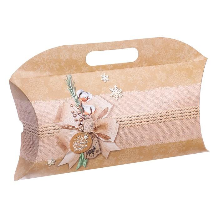Коробка подарочная «С Новым годом», 34 × 28.5 × 7.5 см