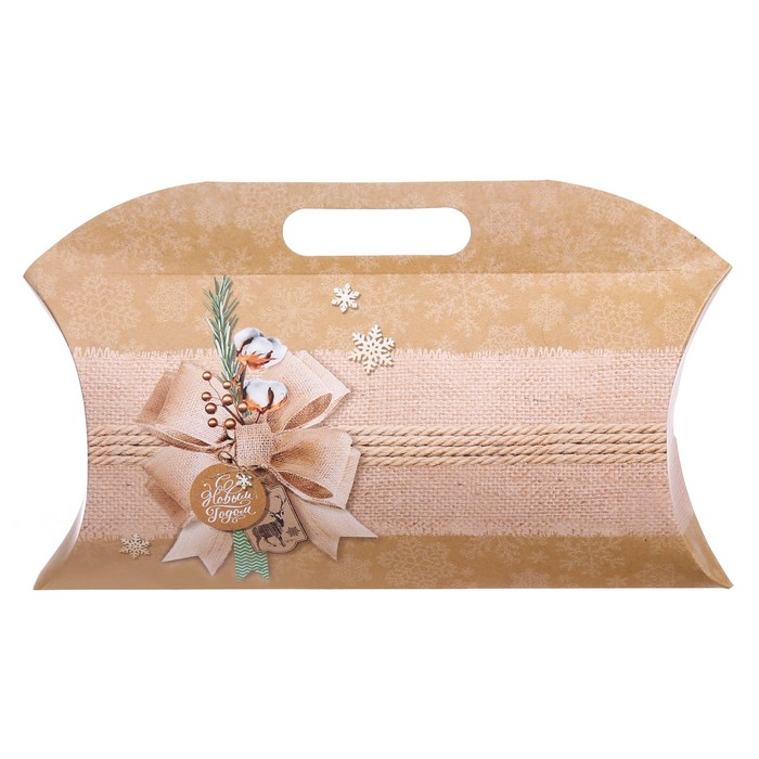 Коробка подарочная «С Новым годом», 21.5 х 13.5 х 5 см