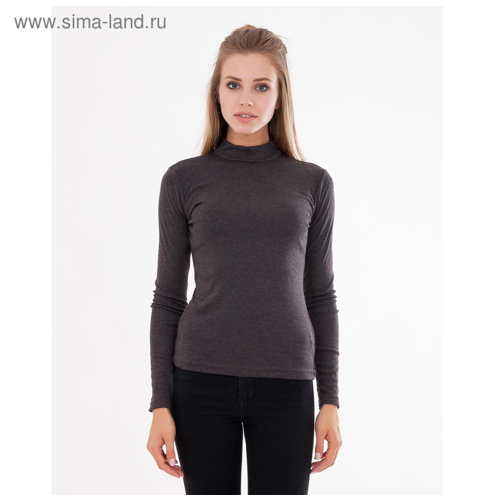 """Водолазка женская """"Термо"""" 602216 (752-8) цвет серый, размер 42 (XS)"""